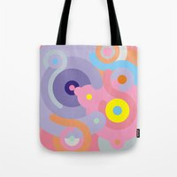 baroque Tote Bags featuring Modern Baroque by Stop::mashina ~SharenBob