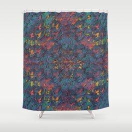 Glitching It (No. 2) Shower Curtain
