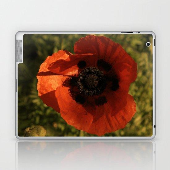 woodstock flowers Laptop & iPad Skin