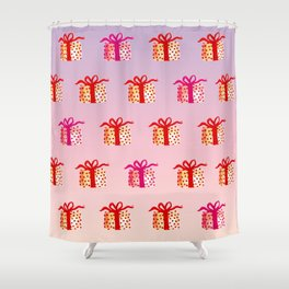 Watercolor Lovely Gift Shower Curtain