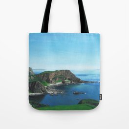 Islay Scotland Oil on Canvas Tote Bag