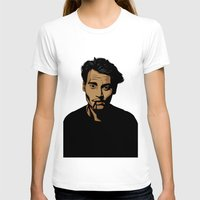 johnny depp T-shirts featuring johnny depp by pexkung