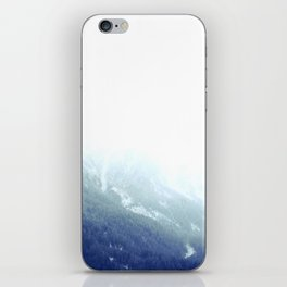 Snowy gradient iPhone Skin