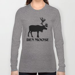 The moose from Scandinavia Long Sleeve T-shirt