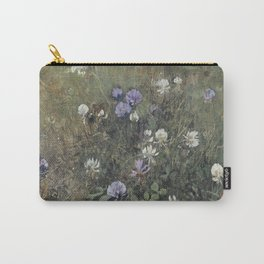 Jac Van Looij - Blooming Clover, 1897. Carry-All Pouch