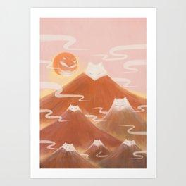 Journey with FOX 3 Art Print