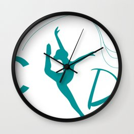 PRC Dance Wall Clock