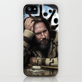 Rug Thinking iPhone Case