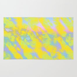 impressionism sun Rug