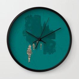 everyone his own island Wall Clock