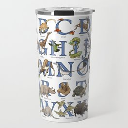 Animal Alphabet Travel Mug