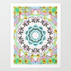 eclectic summer prints Art Print