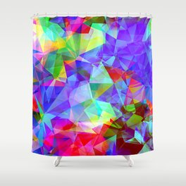 polygons Shower Curtain