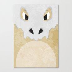 Minimalist Cubone Canvas Print
