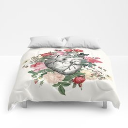 Roses for her Heart Comforters