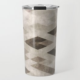 Abstract Pattern in Subtle Travel Mug