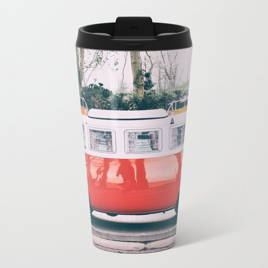 Combi car 4 Metal Travel Mug