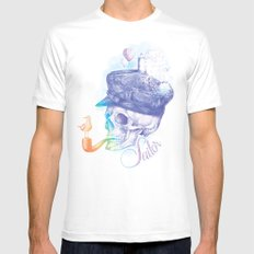 Sailor White Mens Fitted Tee MEDIUM
