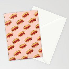 Hot Dog Dachshund Stationery Cards