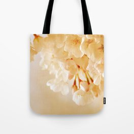 Pastel Blossoms Tote Bag
