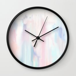 Marble Wash Wall Clock