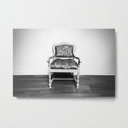 An Old Chair Metal Print
