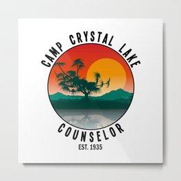 Camp Crystal Lake Metal Print