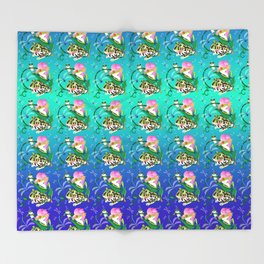 Frogs Throw Blanket