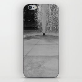 Chasing fountains iPhone Skin