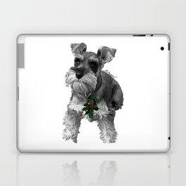 Christmas Schnauzer Laptop & iPad Skin