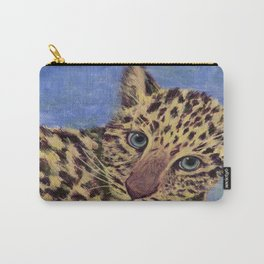 Baby Leopard Carry-All Pouch