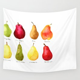 Pears Wall Tapestry