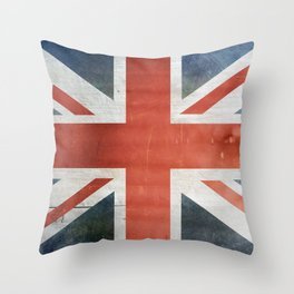 Great Britain, Union Jack Throw Pillow