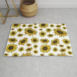The Sunflowers Rug