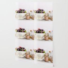 fruits, vegetables, grains, legumes and nuts Wallpaper