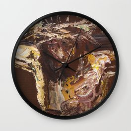 Golgotha IV Wall Clock