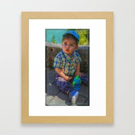 Jaron Framed Art Print