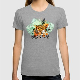 Wild and Free Tiger T-shirt