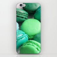 macaroons iPhone & iPod Skins featuring Macaroons by Sara Chergui