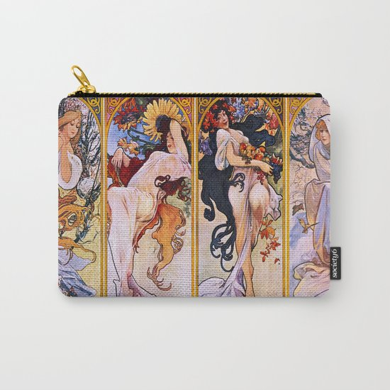 The Four Seasons Carry-All Pouch
