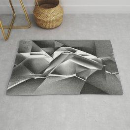 Cubistic nude - 11-01-19 Rug