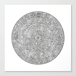 The Inner Hive Canvas Print