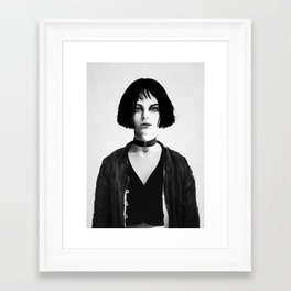 Mathilda Framed Art Print