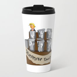 Drumpfster Tower Travel Mug