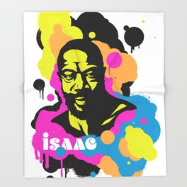 Soul Activism :: Isaac Hayes Throw Blanket
