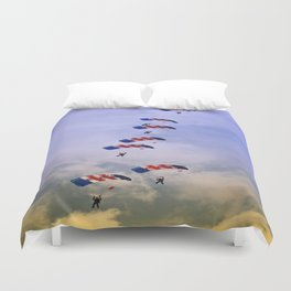 RAF Falcon Stack Formation Duvet Cover