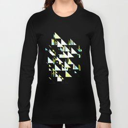 black&neon / triangle Long Sleeve T-shirt