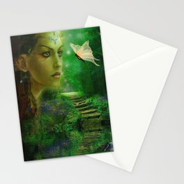 Butterflies are free to fly Stationery Cards