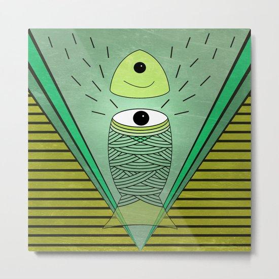 ins-eye-d Metal Print