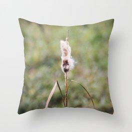 Cattails 2 Throw Pillow